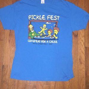 The Simpsons Pickle Fest T-Shirt
